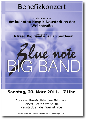 Blue Note Bigband - Benefizkonzert